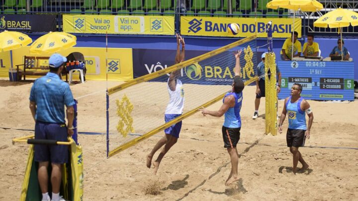 AO VIVO: Circuito Brasileiro De Vôlei De Praia – 28/11 – 16:45 a 18:44