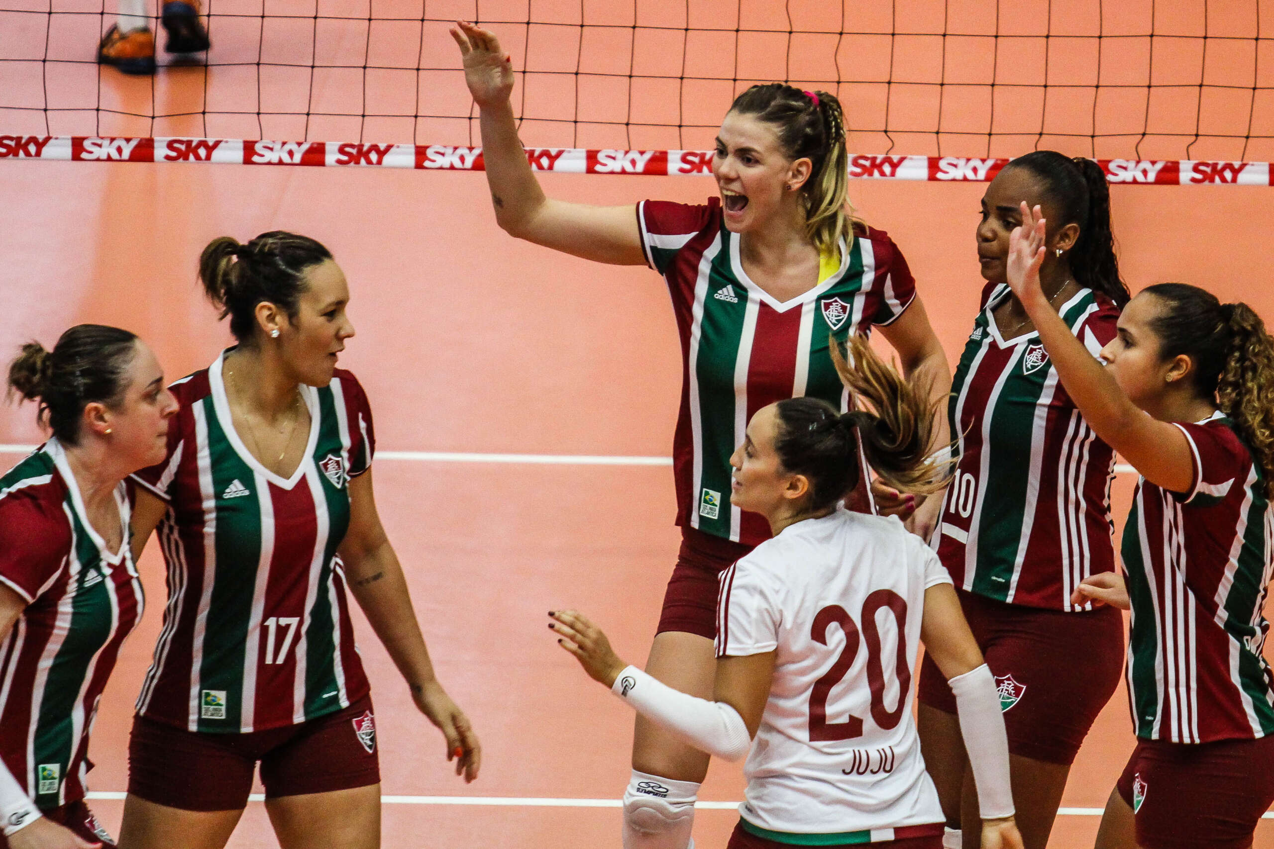 Ao vivo: SESI-BAURU X FLUMINENSE – Superliga Feminina 2020/21