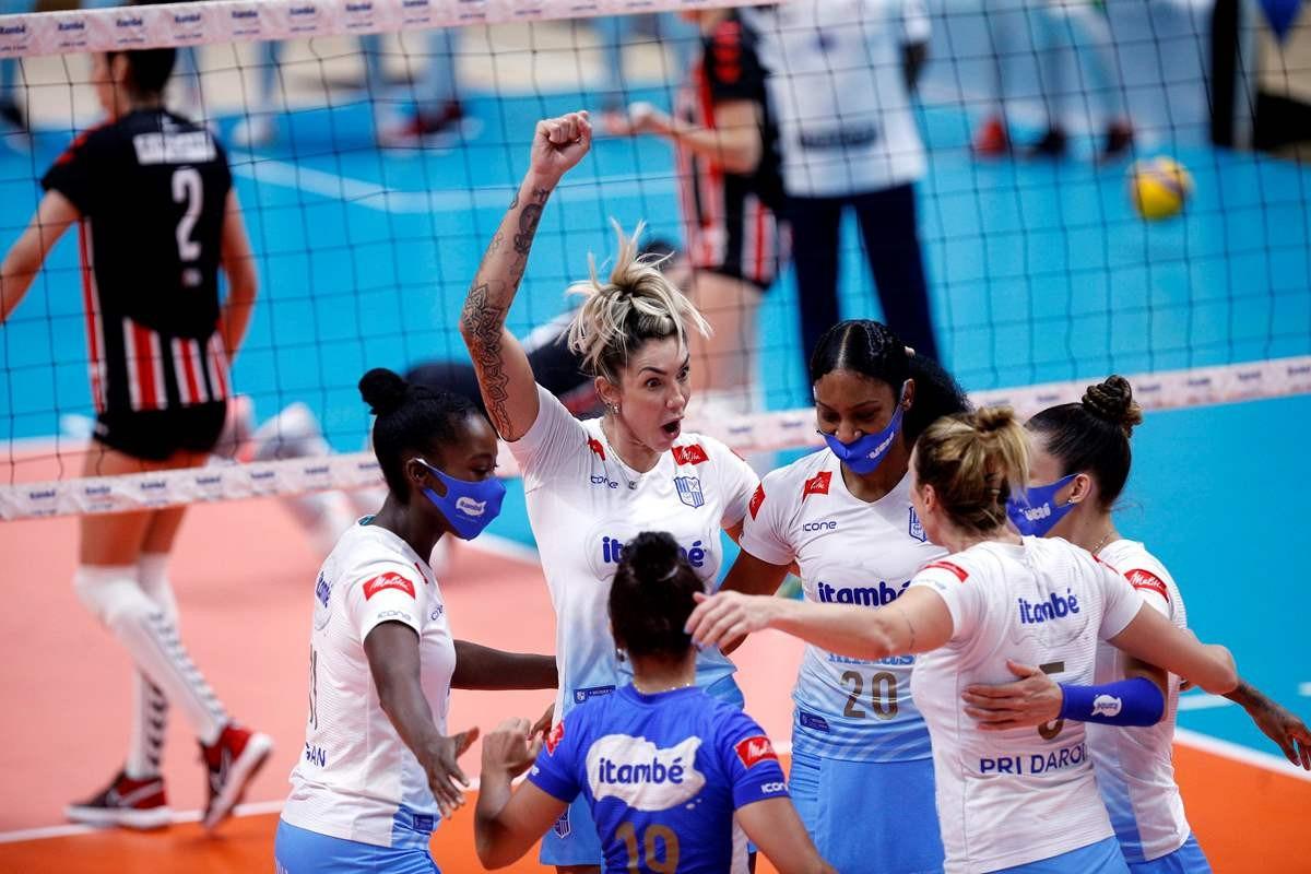 Gravado: MINAS X SESI-BAURU – Superliga Feminina 2020/21