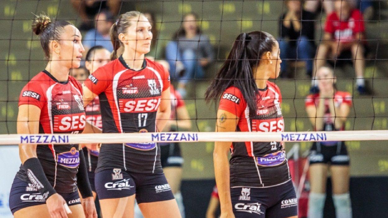 Ao vivo: SESI-BAURU X SESC-FLAMENGO – Superliga Feminina 11/03 – 18h50