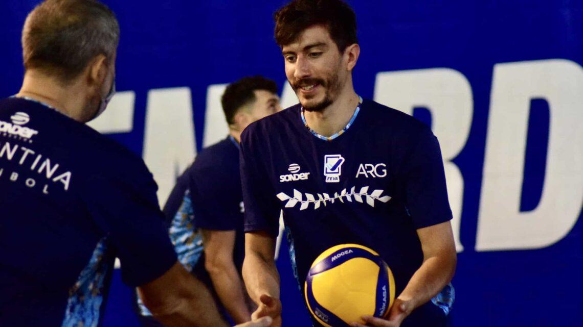 Seleção Brasileira Masculina segue treinos sem Renan