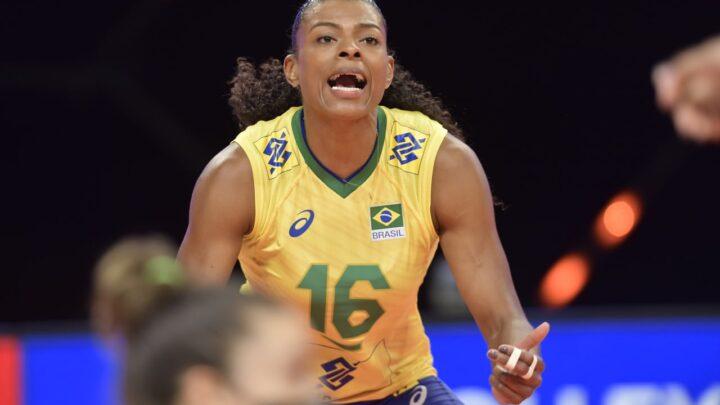 Confira imagens: Seleção feminina bate Canadá por 3 a 1 na estreia da VNL