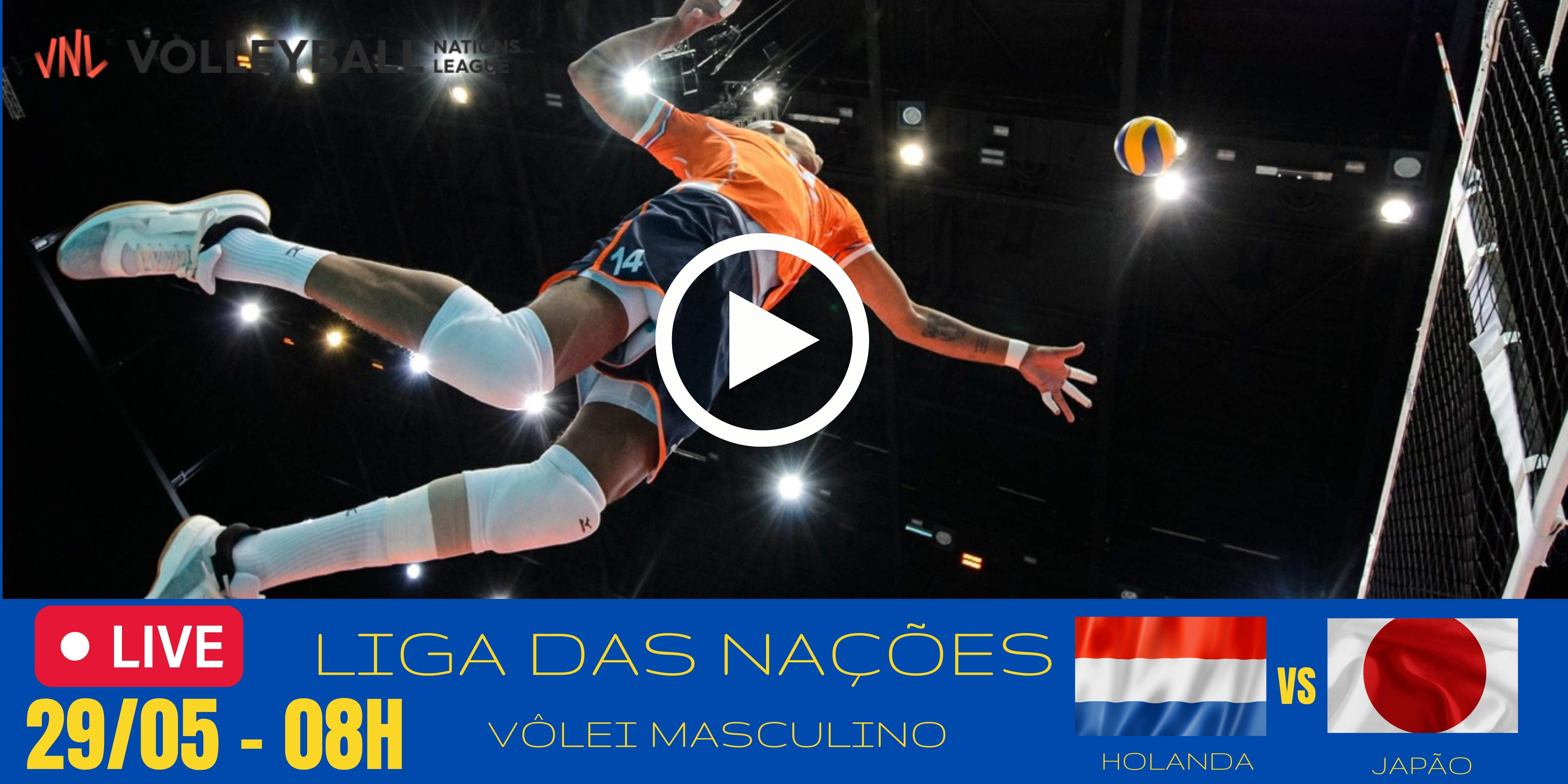 Holanda vs Japão – Liga das Nações – 29/05/2021
