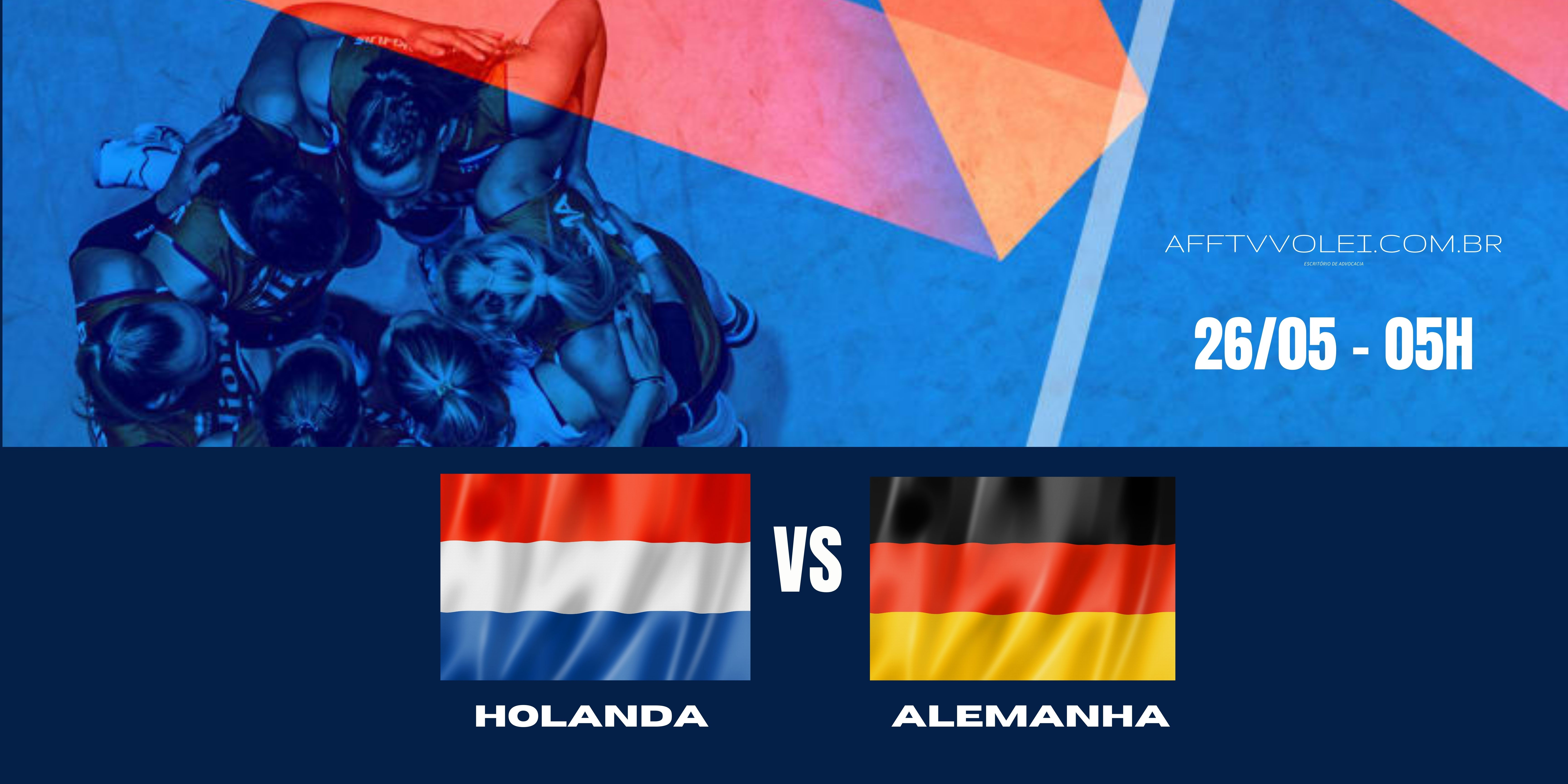 Holanda vs Alemanha – Liga das Nações – 26/05/2021