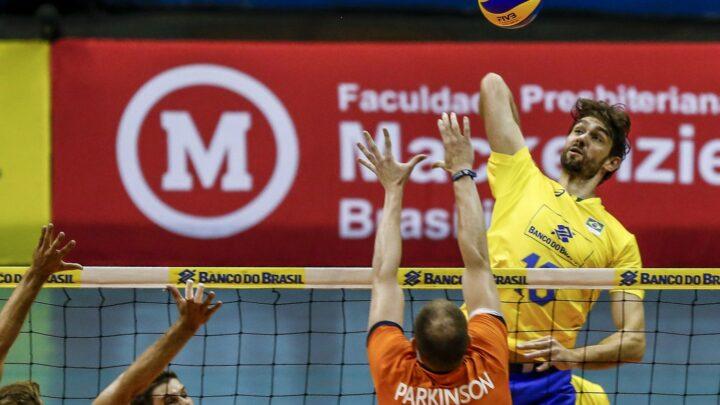 Seleção masculina de vôlei fará jogos amistosos contra a Venezuela