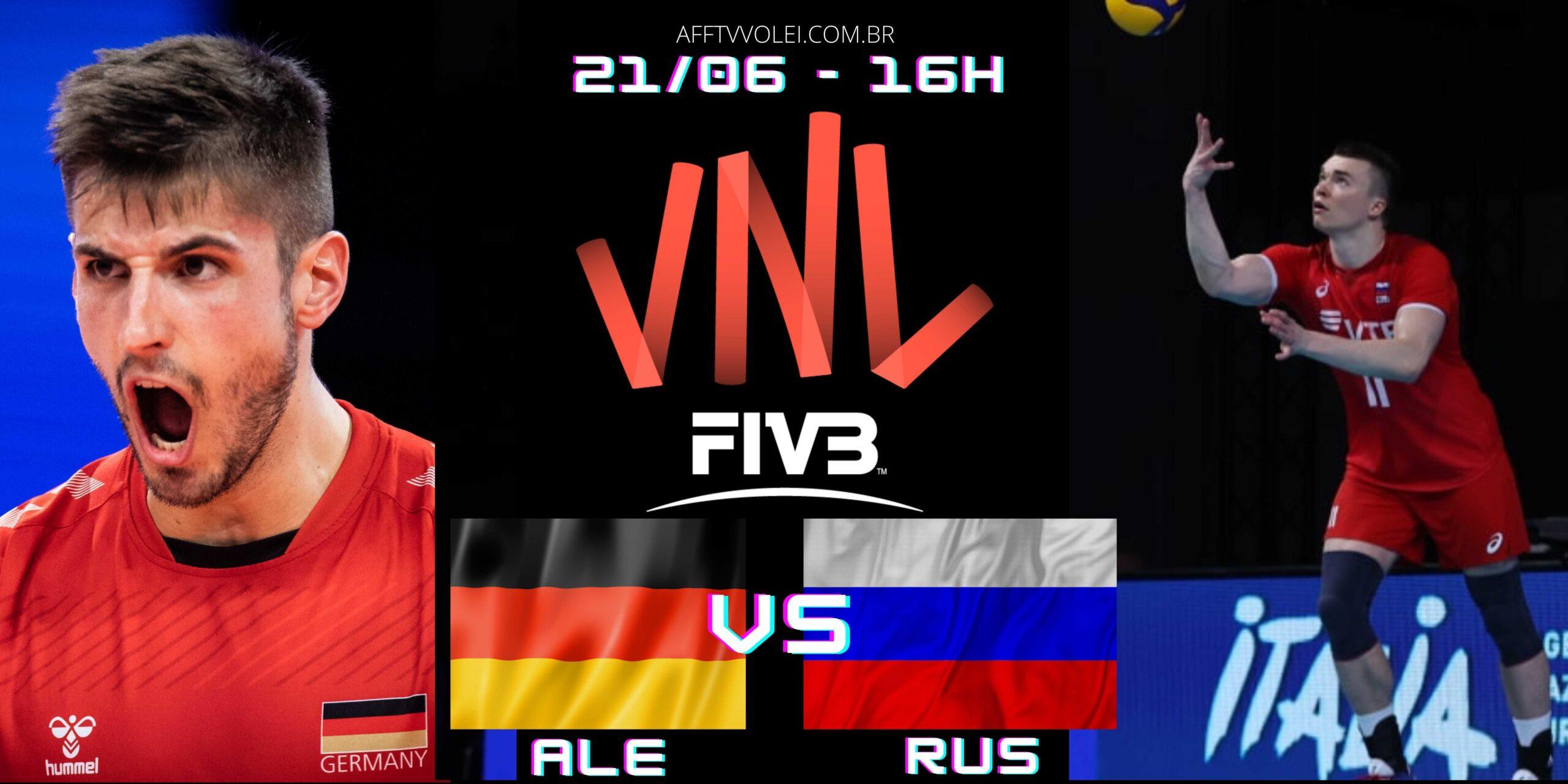 Alemanha 1 vs 3 Rússia – Liga das Nações – 21/06/2021