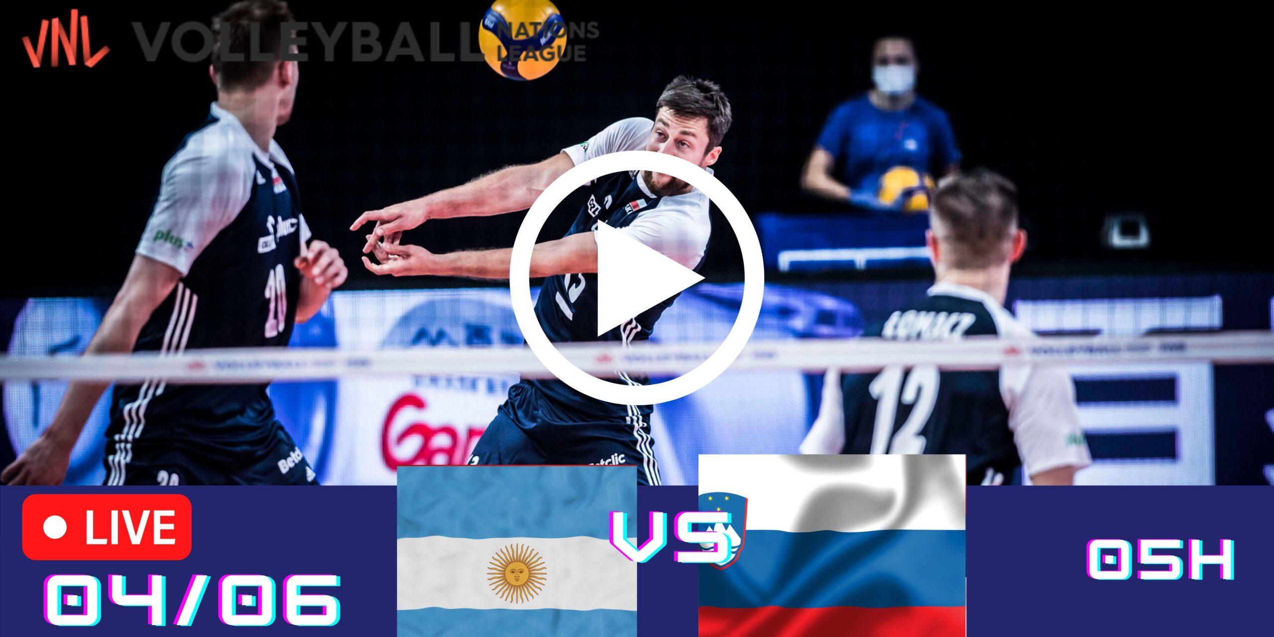 Resultado: Argentina 0 vs 3 Eslovênia – Liga das Nações – 04/06 – 05h