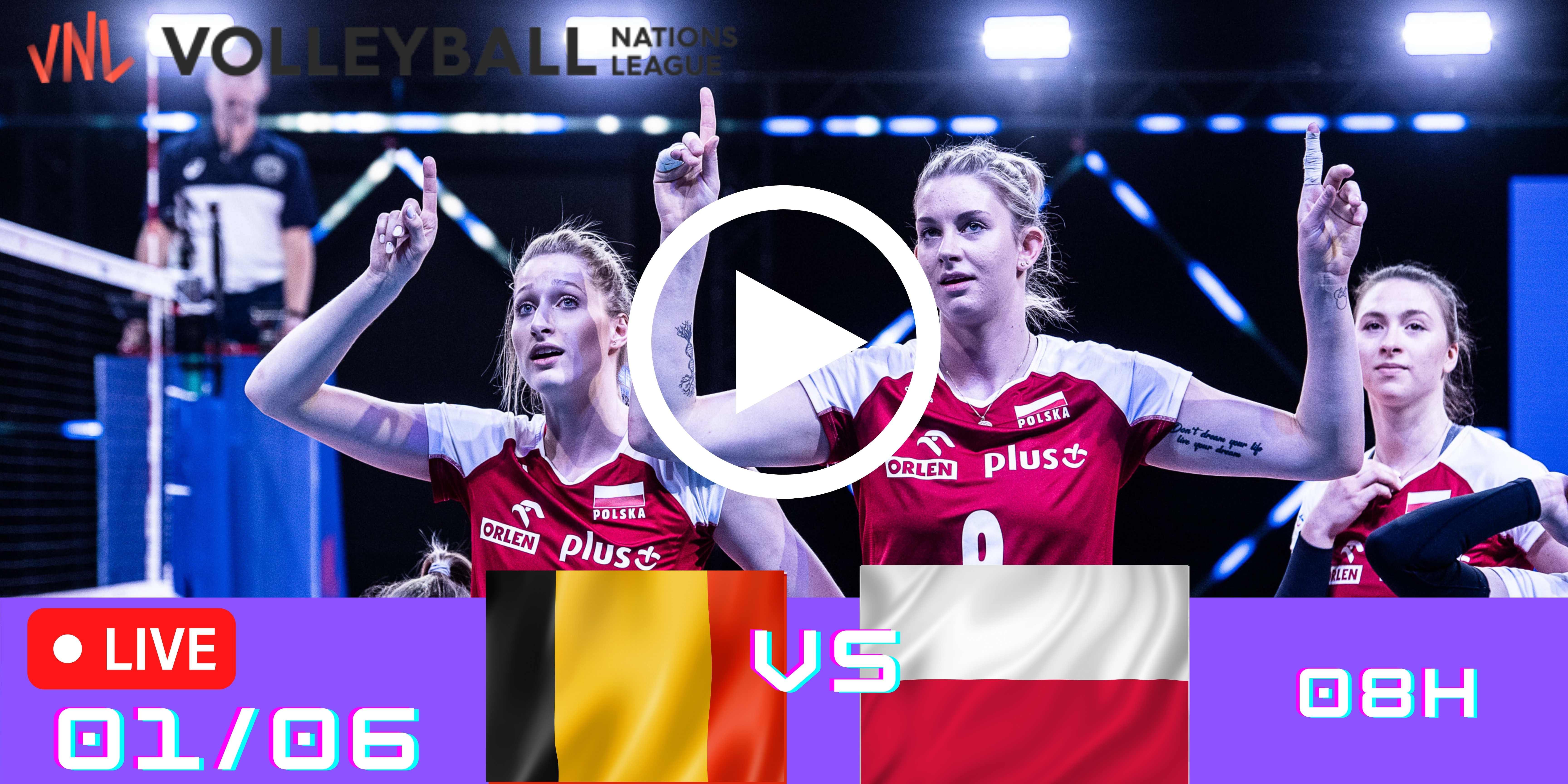 Resultado: Bélgica vs Polônia – Liga das Nações – 01/06/2021