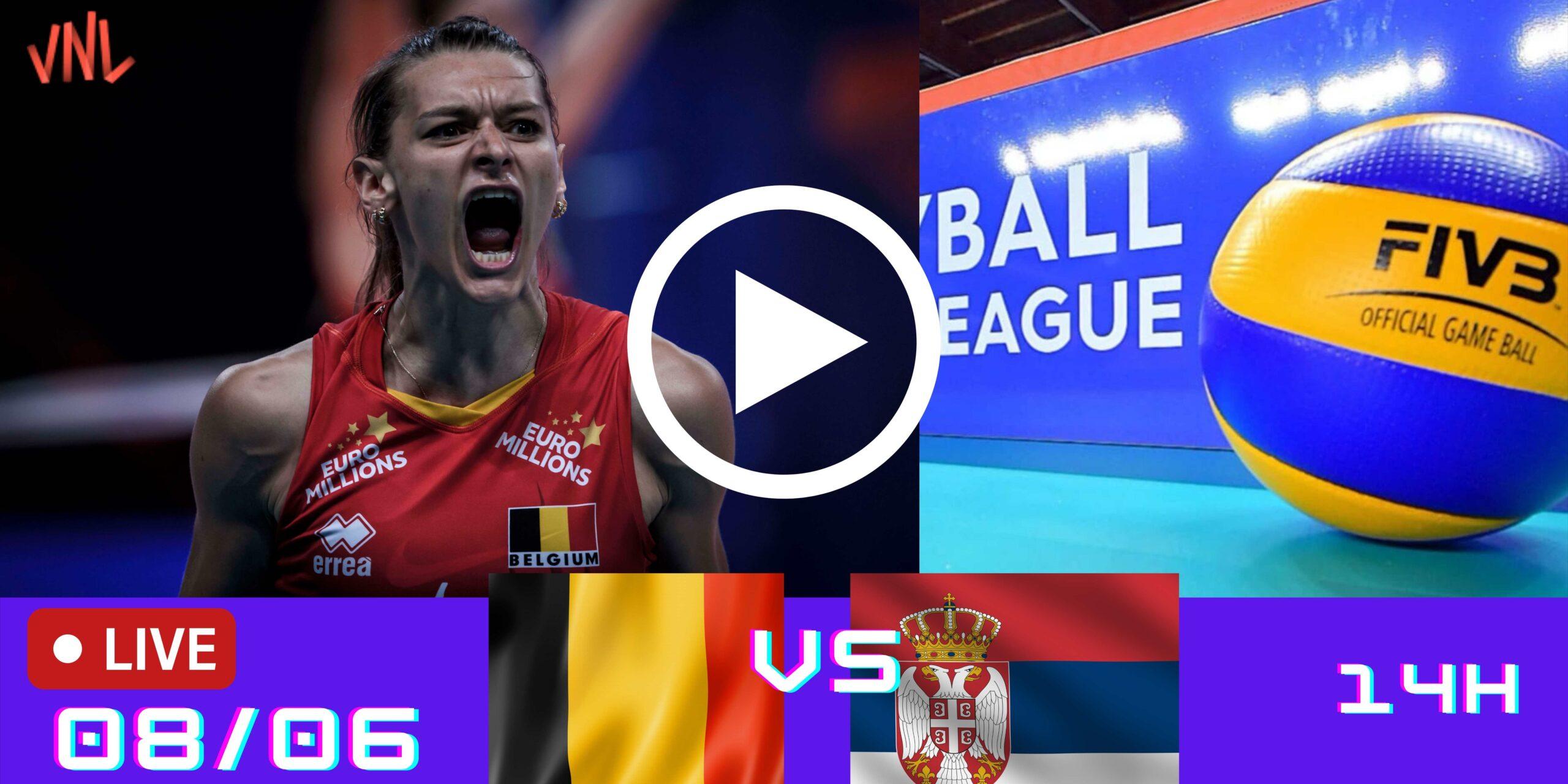 Resultado: Bélgica 3 vs 2 Sérvia – Liga das Nações – 08/06/2021