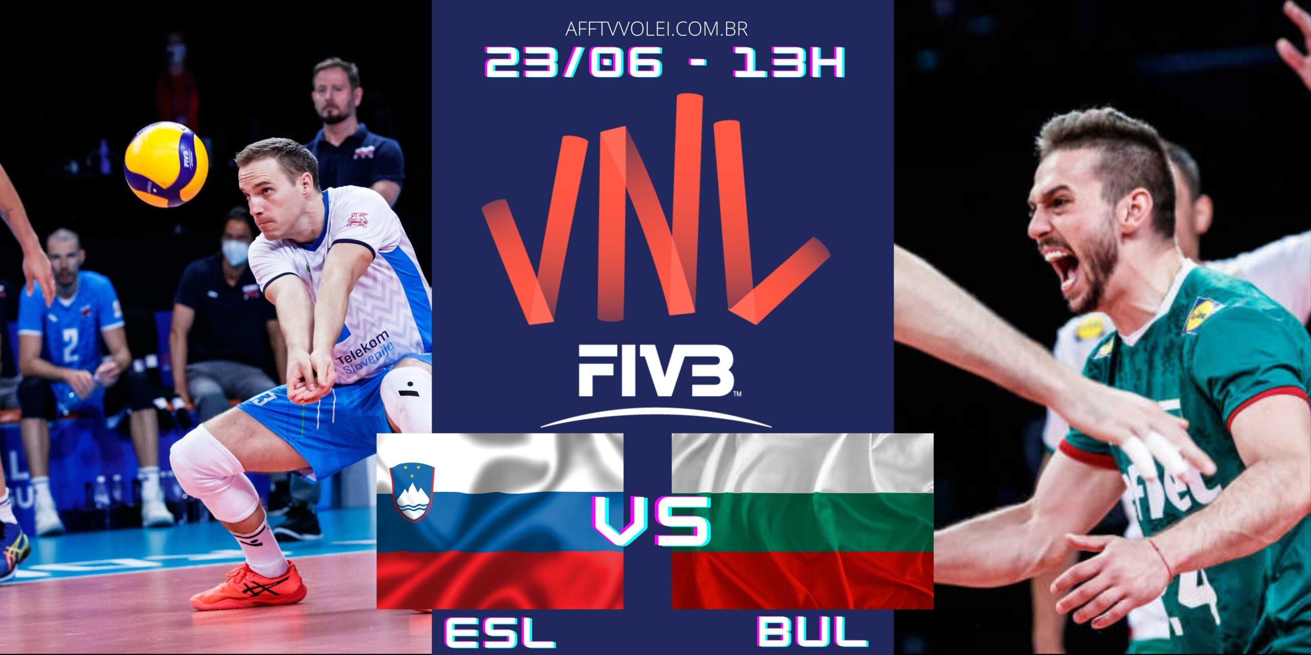 Eslovênia 3 vs 0 Bulgária – Liga das Nações – 23/06/2021
