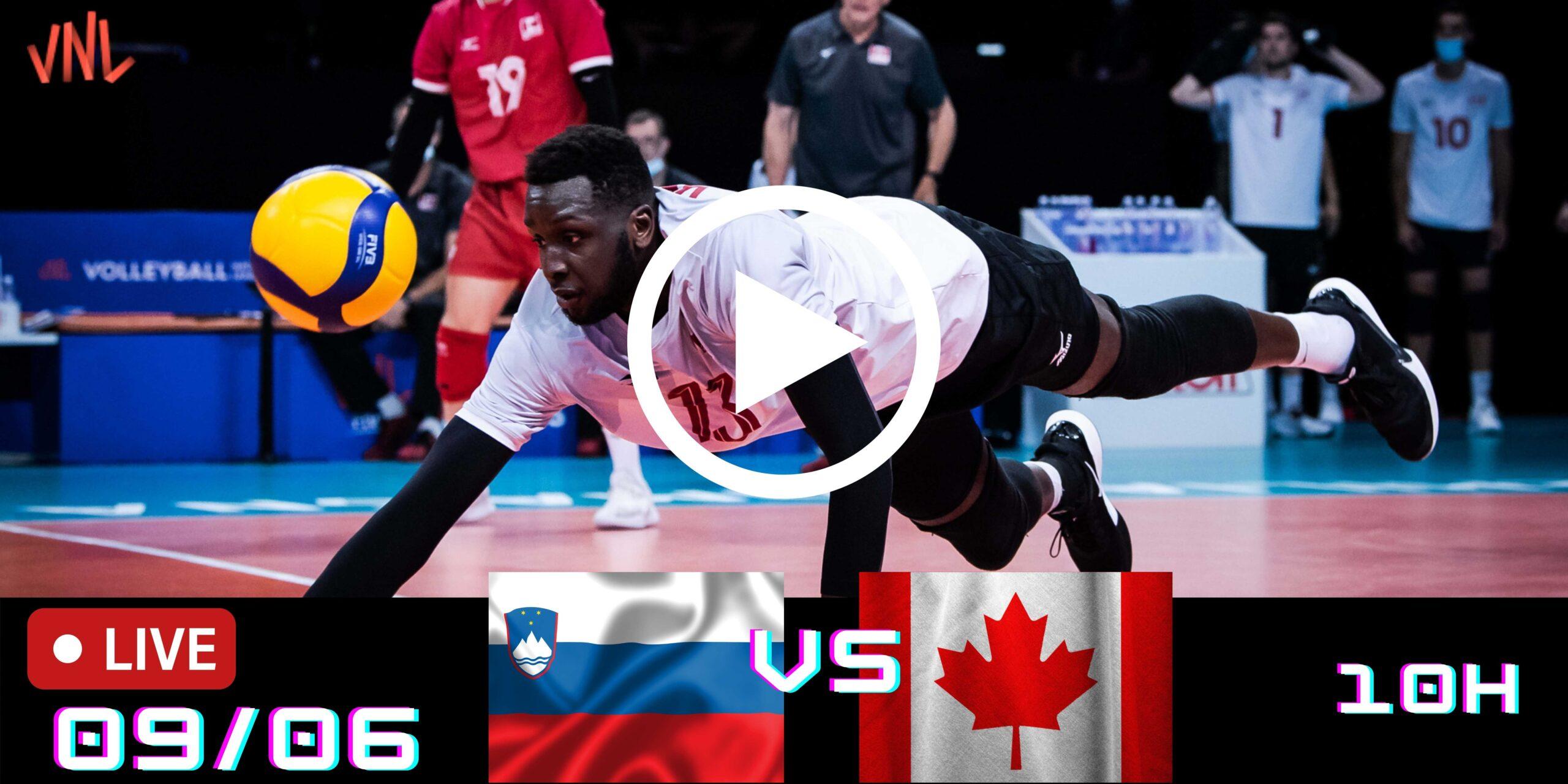 Resultado: Eslovênia 3 vs 0 Canadá – Liga das Nações – 09/06/2021