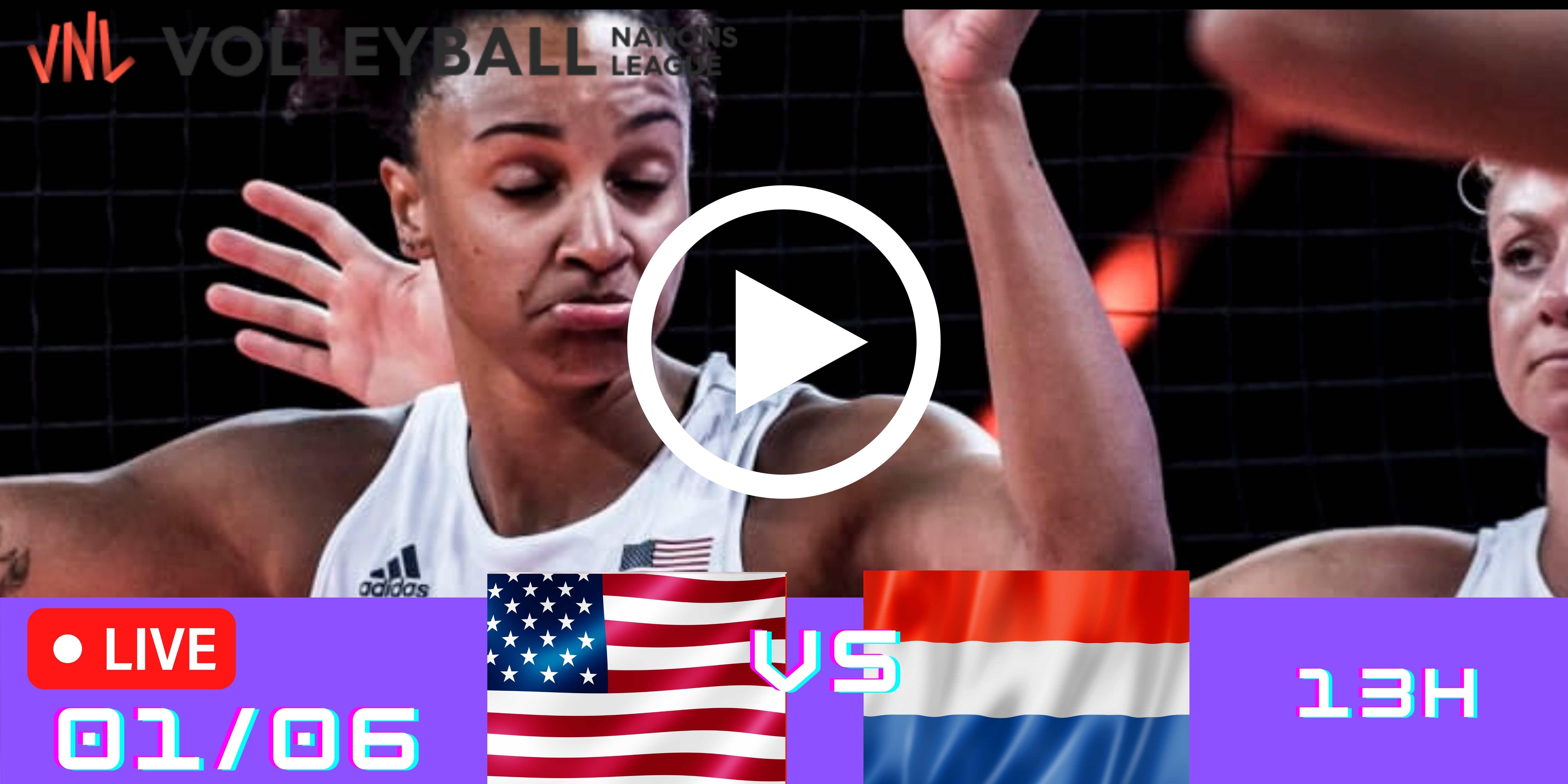 Resultado: EUA vs Holanda – Liga das Nações – 01/06/2021