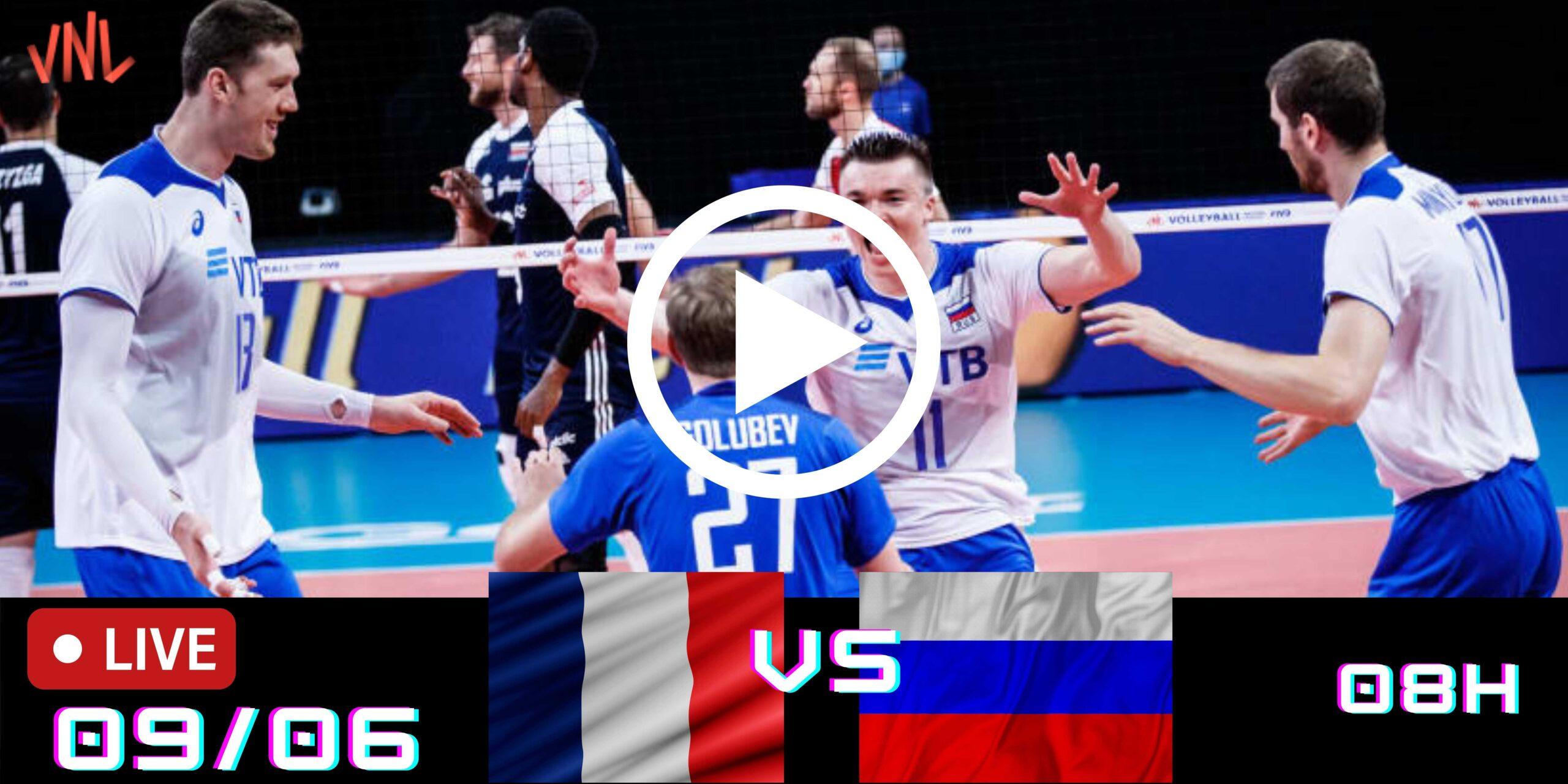 Resultado: França 3 vs 1 Rússia – Liga das Nações – 09/06/2021