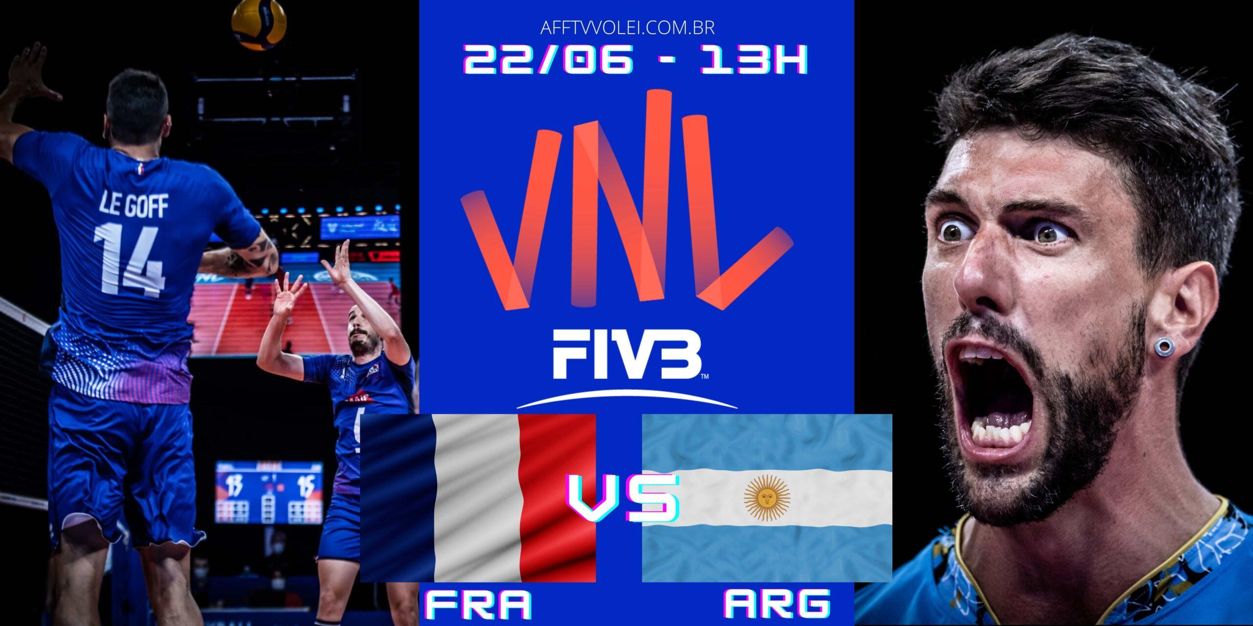França 3 vs 0 Argentina – Liga das Nações – 22/06/2021
