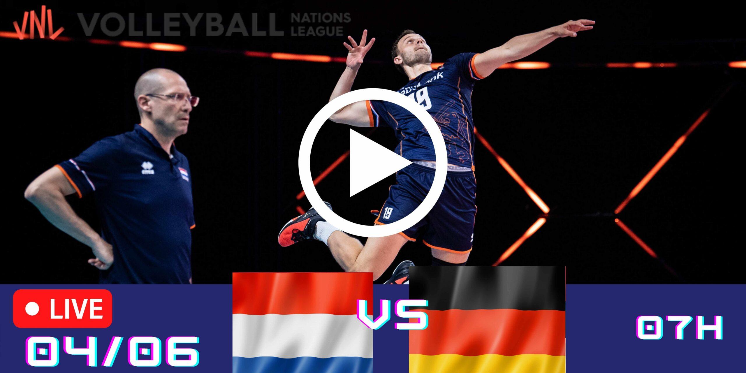 Resultado: Holanda 3 vs 2 Alemanha – Liga das Nações – 04/06 – 07h