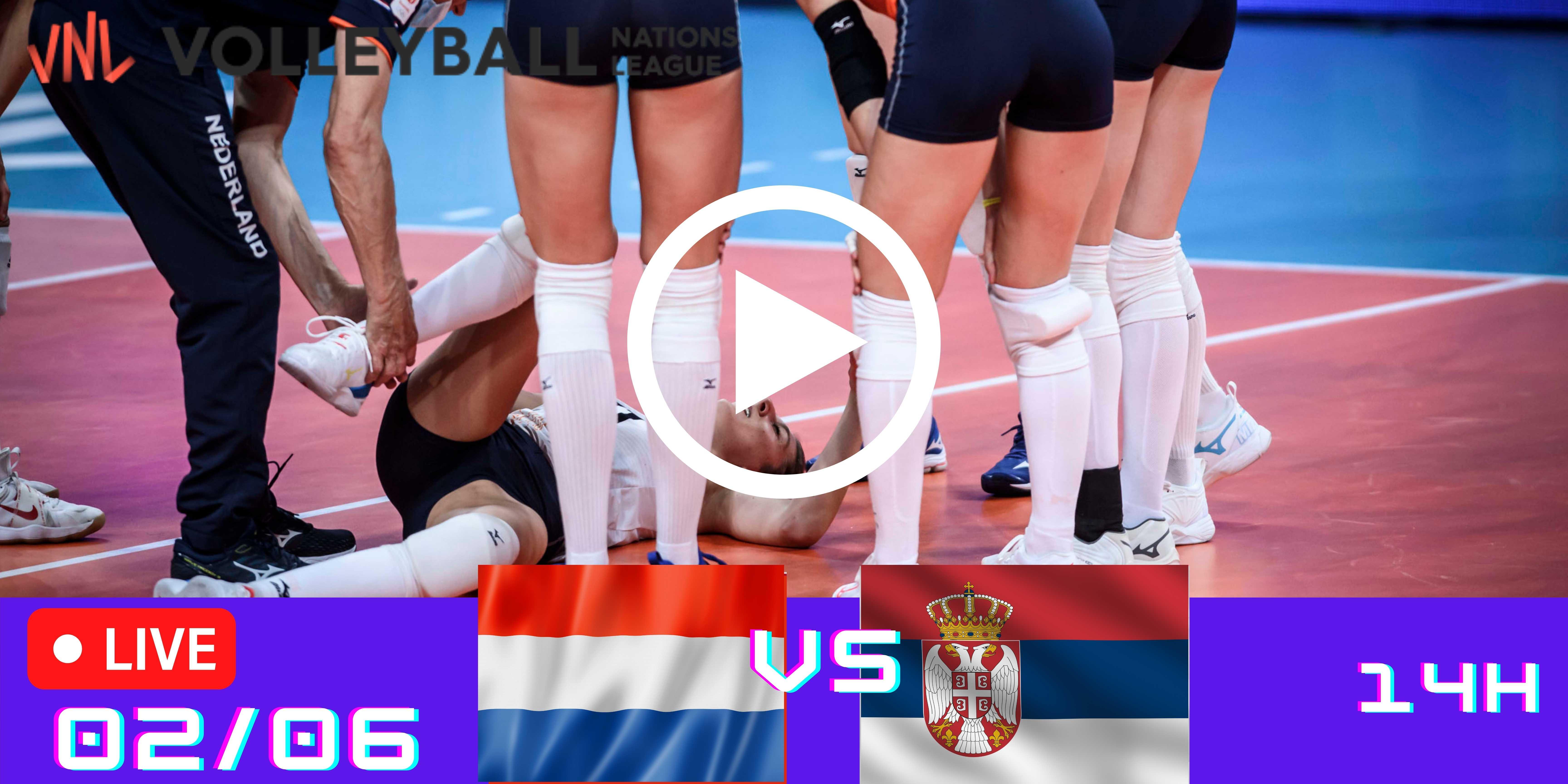 Resultado: Holanda 3 vs 1 Sérvia – Liga das Nações – 02/06 – 14h30