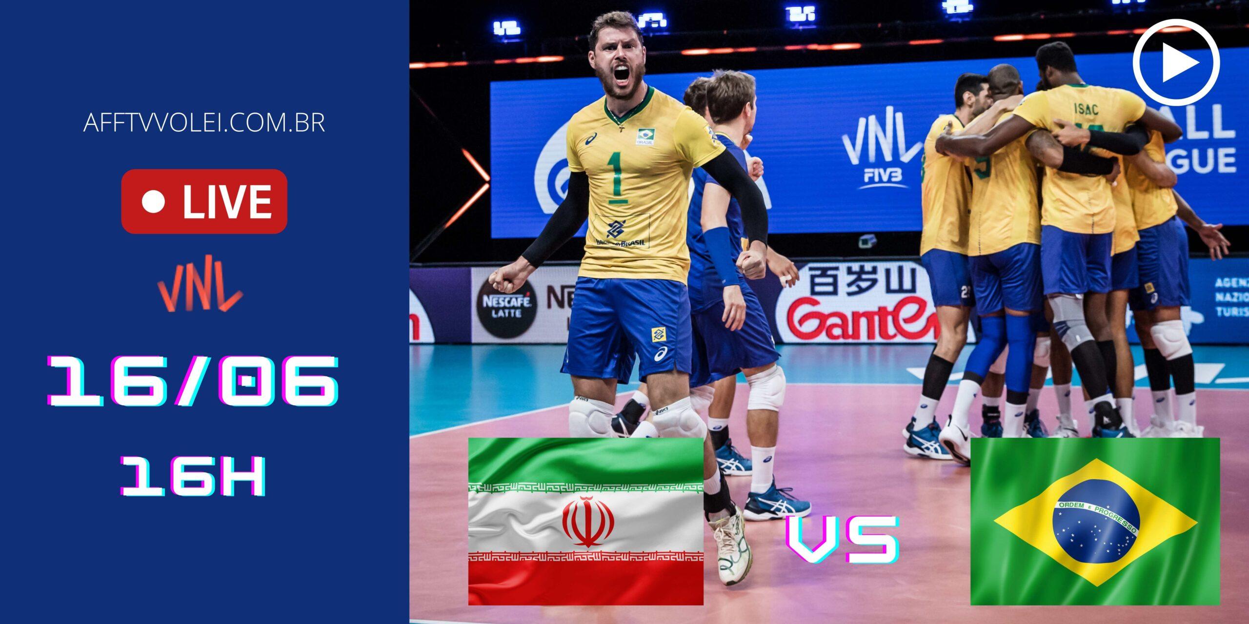 Assista o jogo gravado Brasil x Irã – 16/06/2021