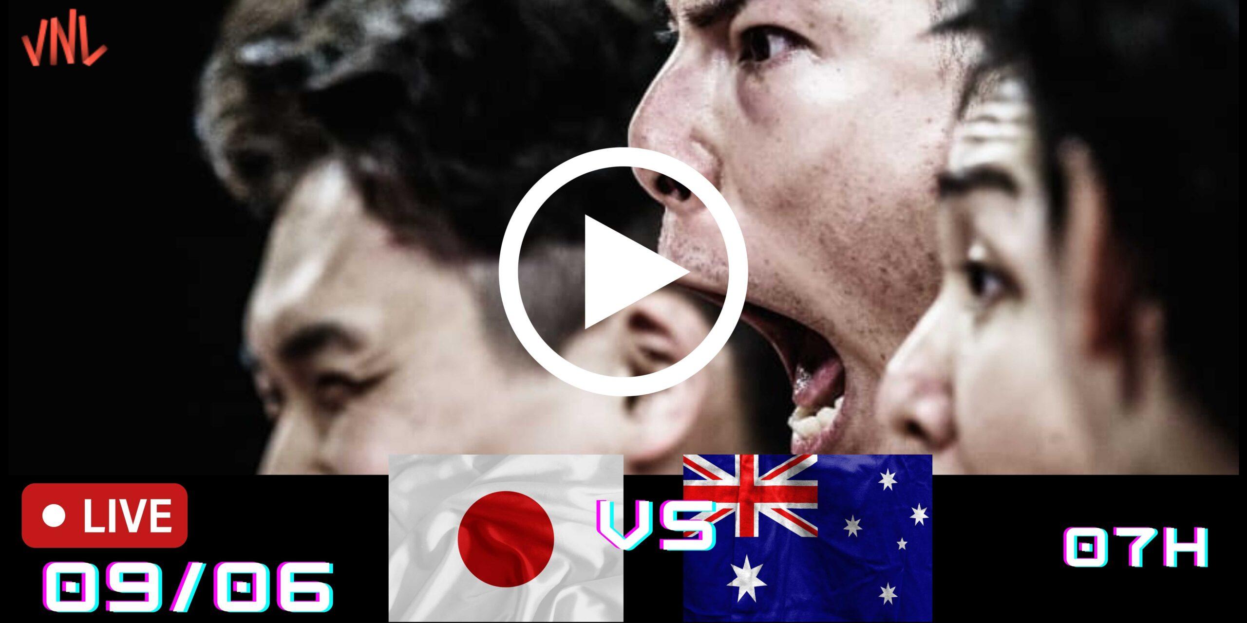 Resultado: Japão 3 vs 1 Austrália – Liga das Nações – 09/06/2021