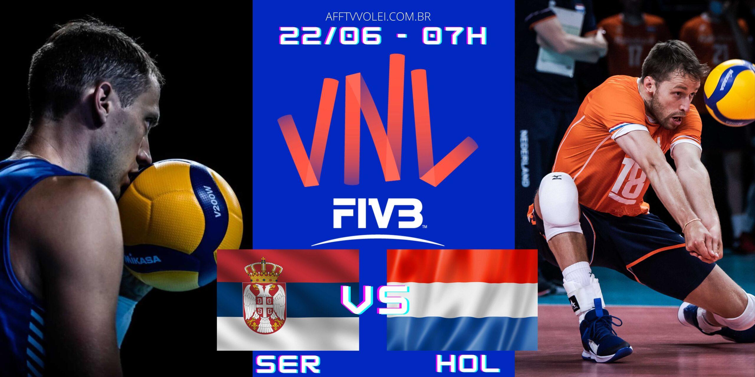 Sérvia 3 vs 2 Holanda – Liga das Nações – 22/06/2021