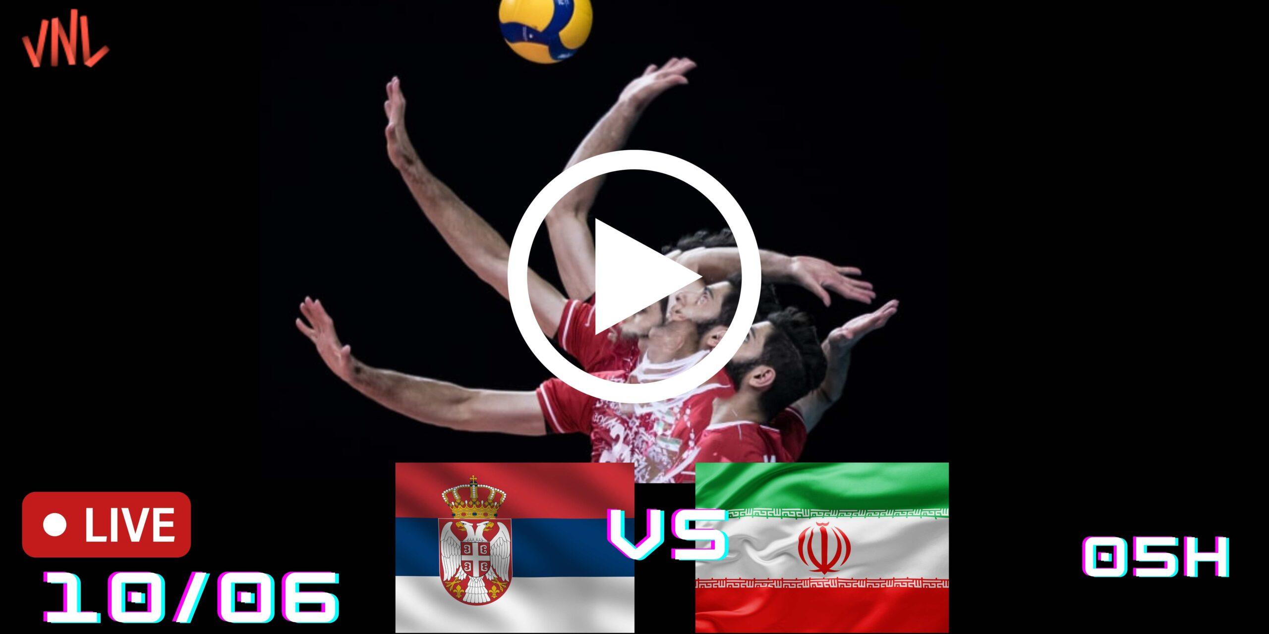 Resultado: Sérvia 3 vs 2 IRÃ – Liga das Nações – 10/06/2021