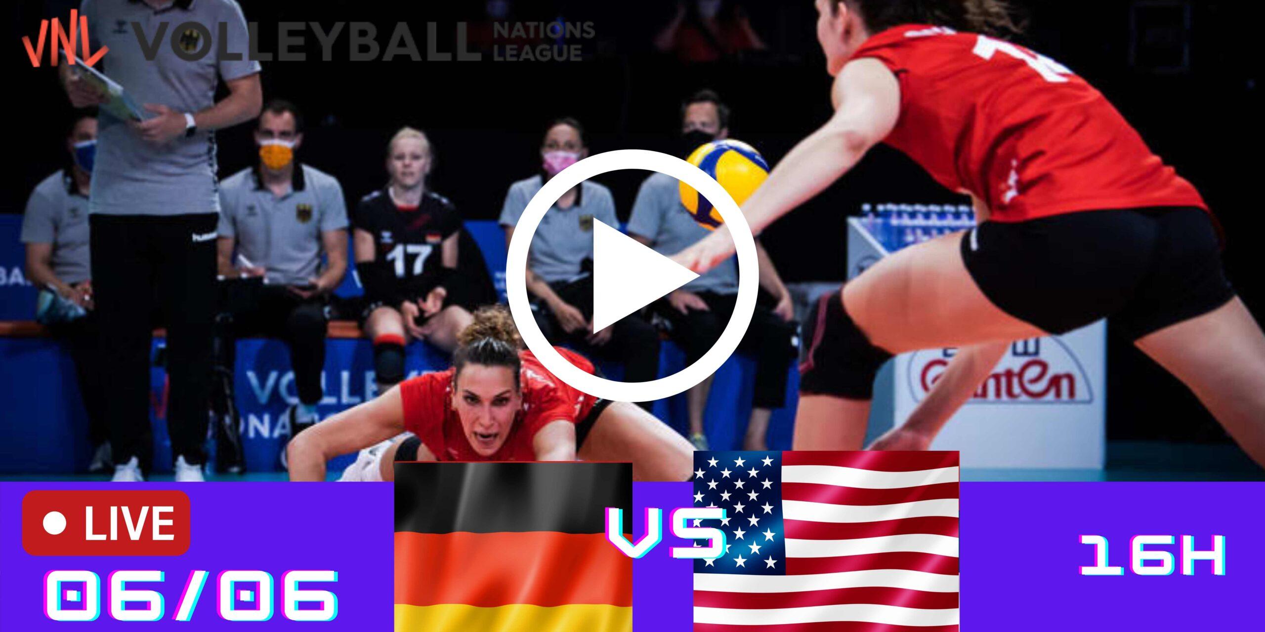 Resultado: Alemanha 0 vs 3 Estados Unidos – Liga das Nações – 06/06 – 16h