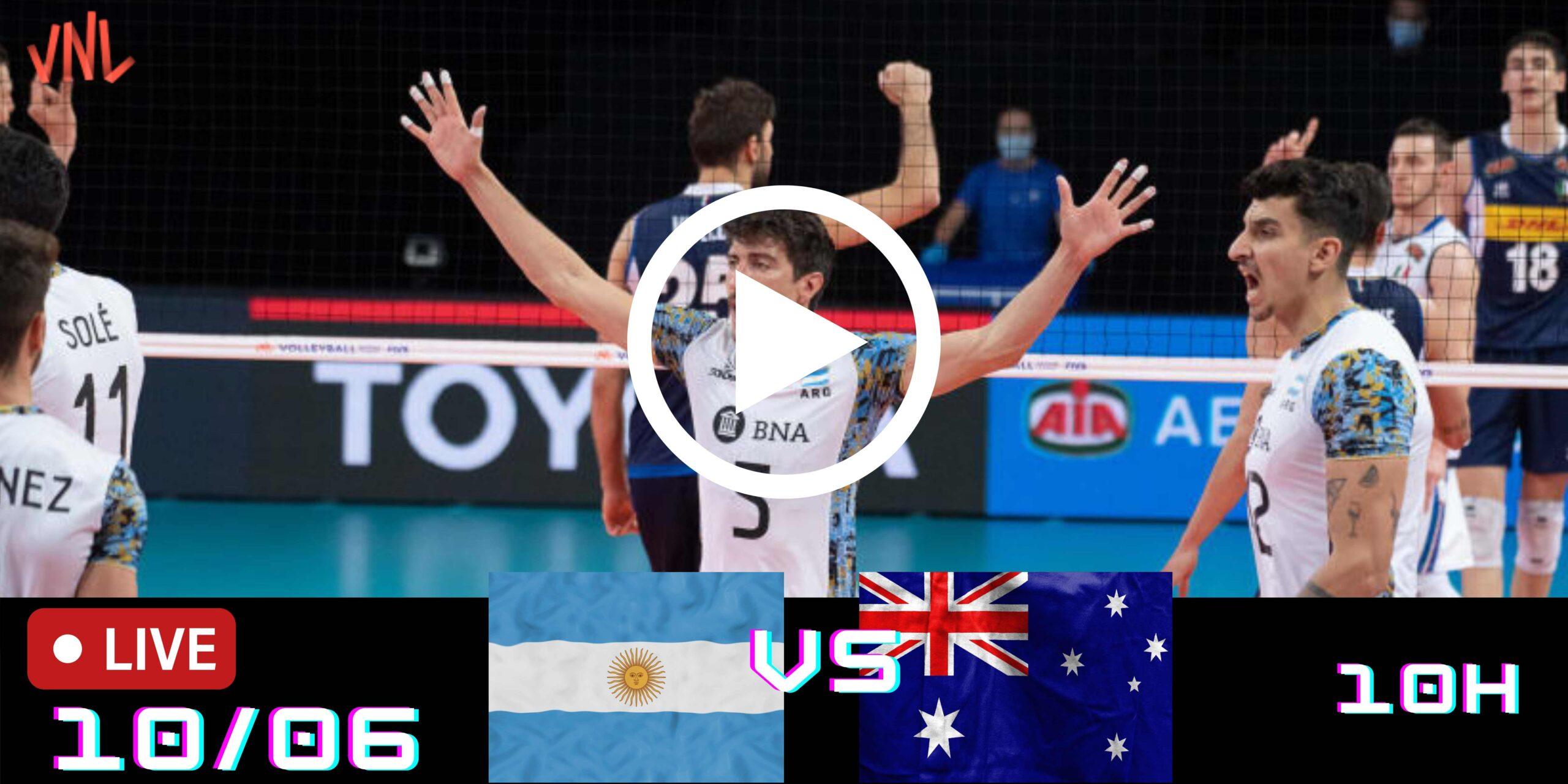 Resultado: Argentina 3 vs 0 Australia – Liga das Nações – 10/06/2021