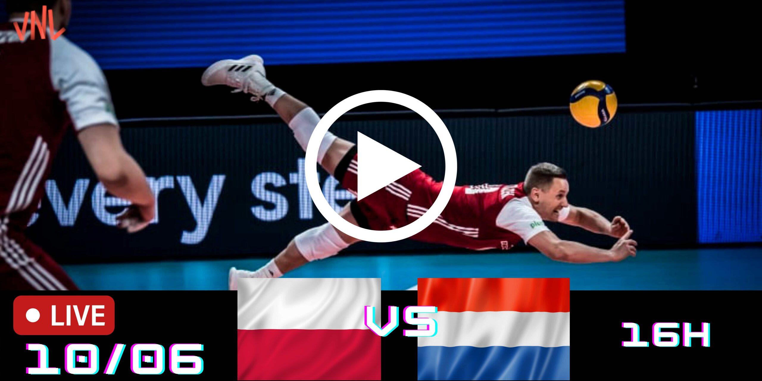 Resultado: Polônia 3 vs 0 Holanda – Liga das Nações – 10/06/2021