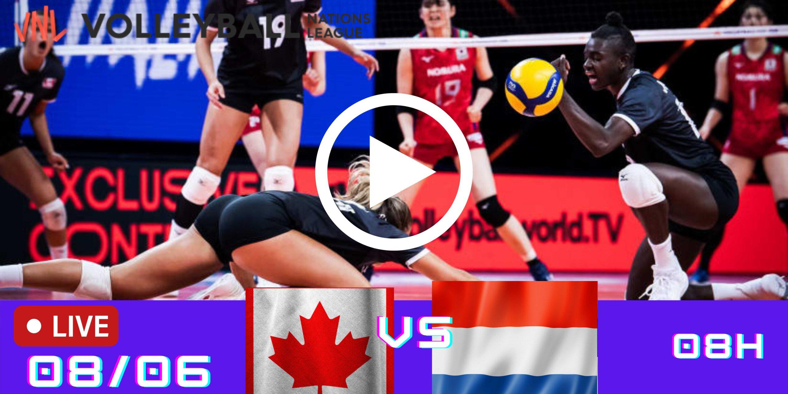 Resultado: Canadá 0 vs 3 Holanda – Liga das Nações – 08/06/2021