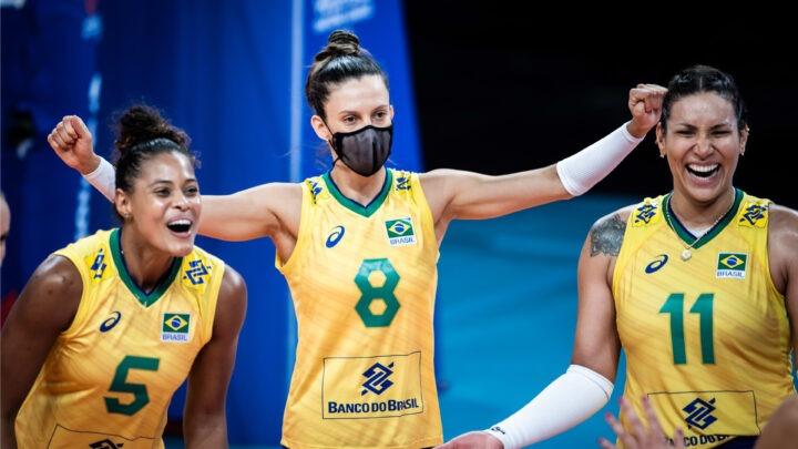 Com méritos a Seleção feminina está na semifinal da Liga das Nações